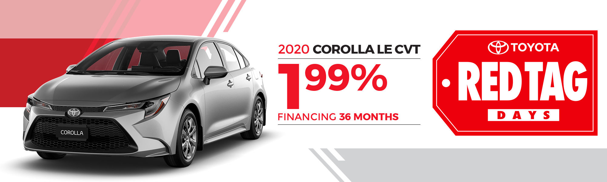 2020 COROLLA LE CVT
