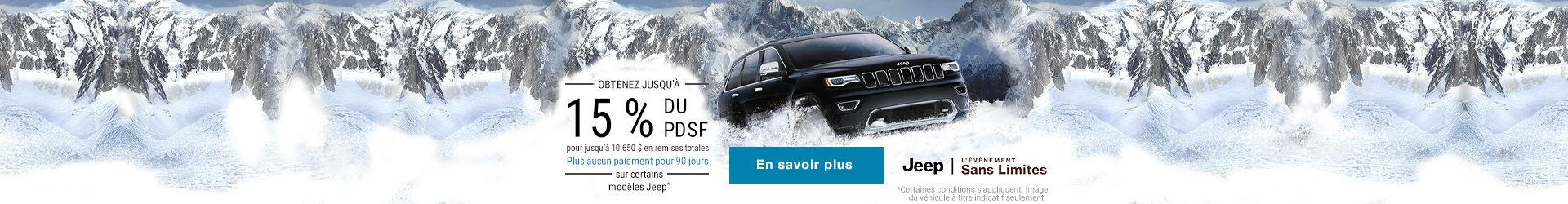 L'événement Jeep