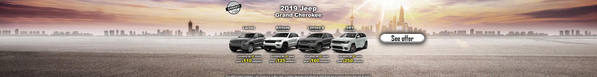 Promo Grand Cherokees