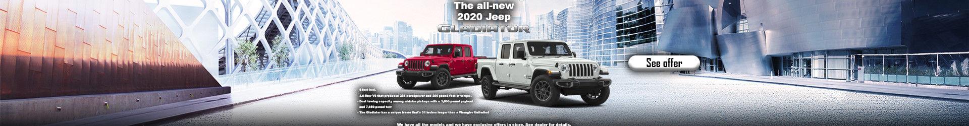 Promo Jeep Gladiator