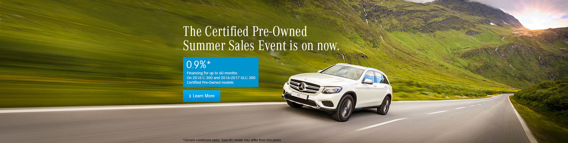 Mercedes CPO Summer Sales Event