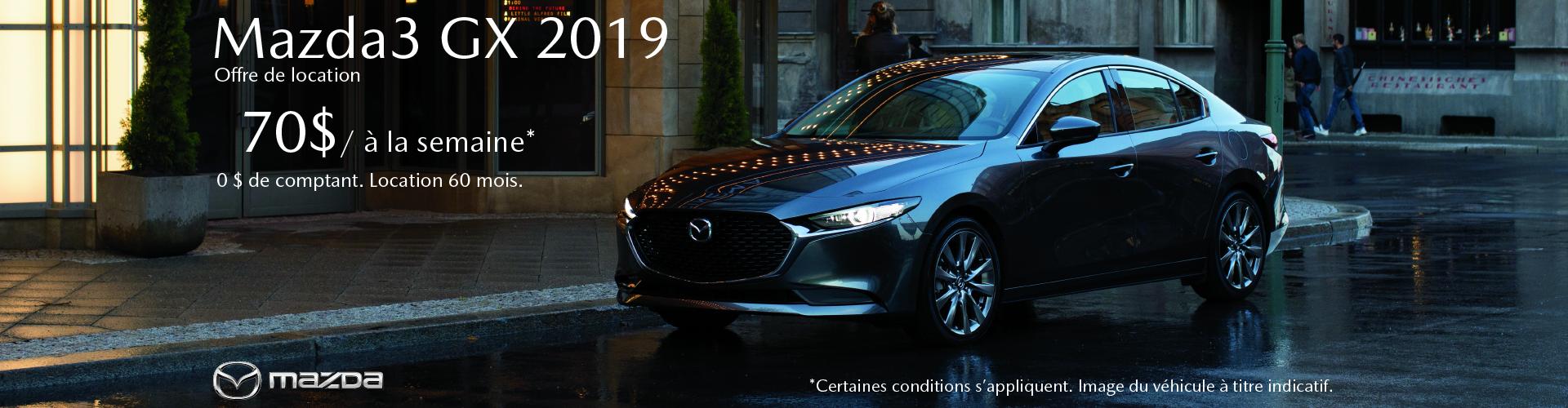 FR Mazda3 GX 2019 (St-Laurent)