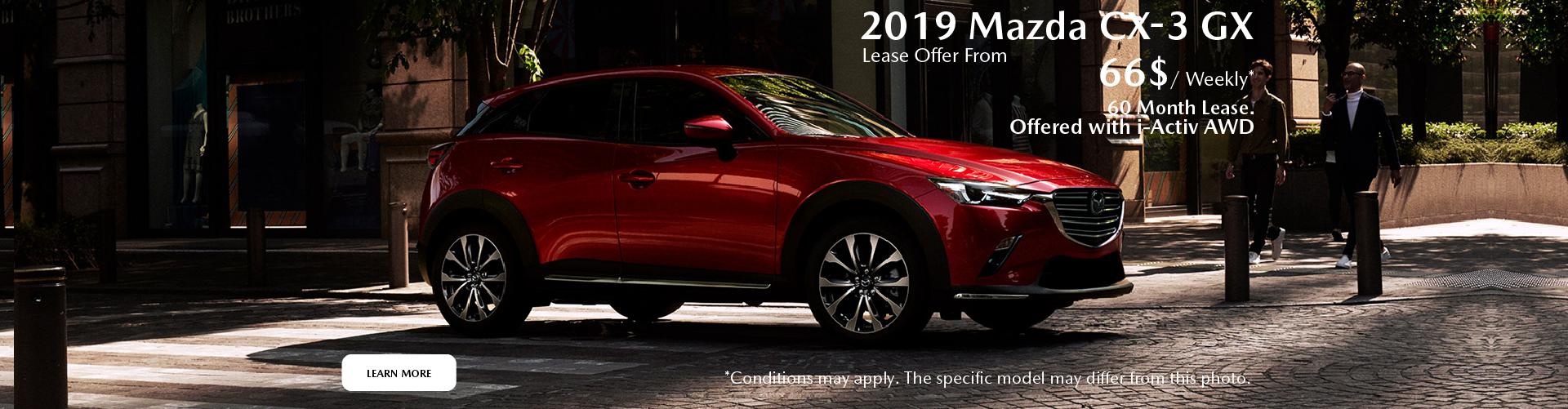 2019 Mazda CX-3 (Anjou)
