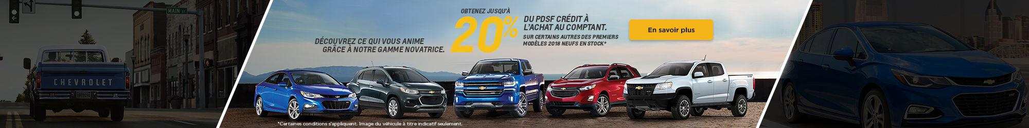 L'Événement mensuel Chevrolet