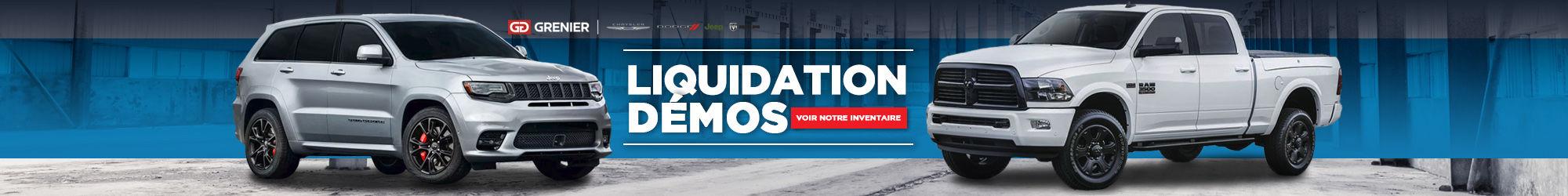 Liquidation Démo