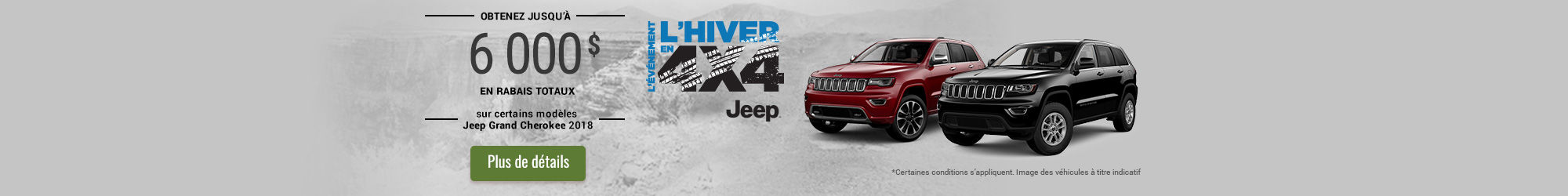 L'événement l'hiver en 4x4 - Jeep