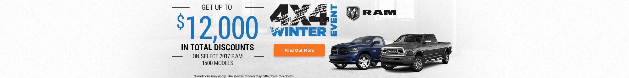Winter 4x4 Event - RAM