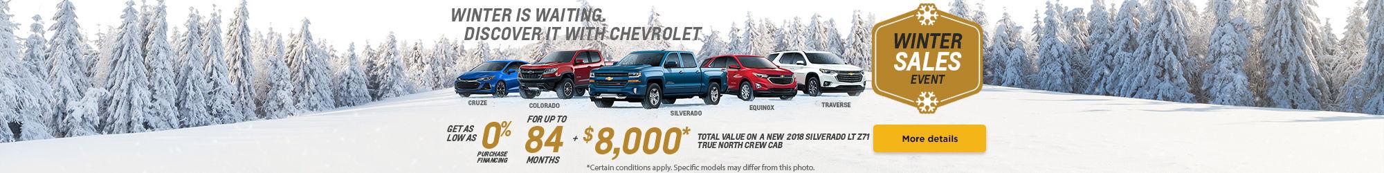 Chevrolet's Winter sales Event!