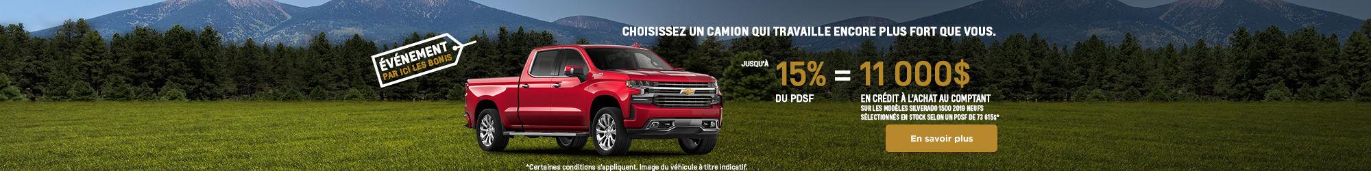 Événement Chevrolet!