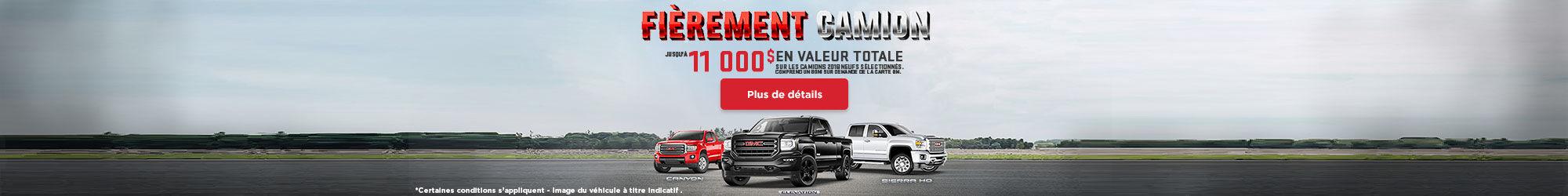 Fièrement Camion - GMC