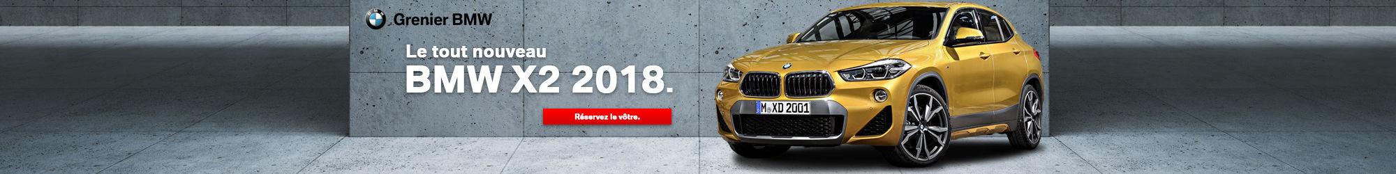 Le tout nouveau BMW X2 2018