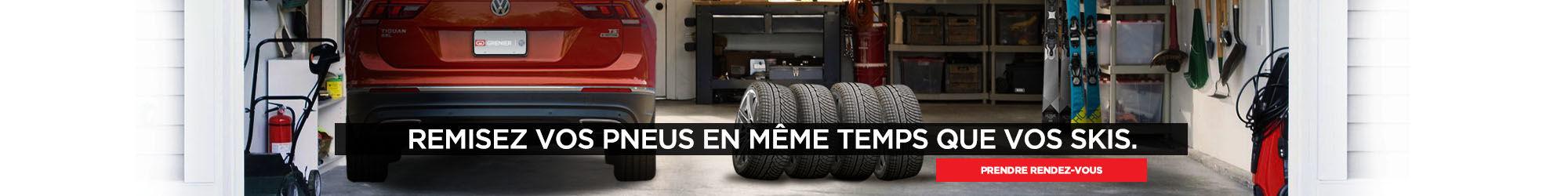 Changement pneus Grenier Volkswagen