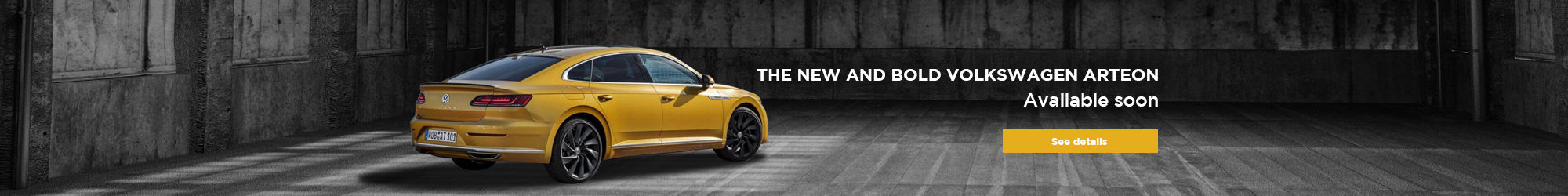 Volkswagen Arteon soon available