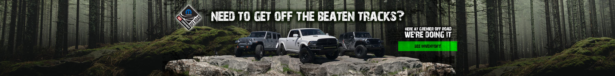 GRENIER OFF ROAD see inventory