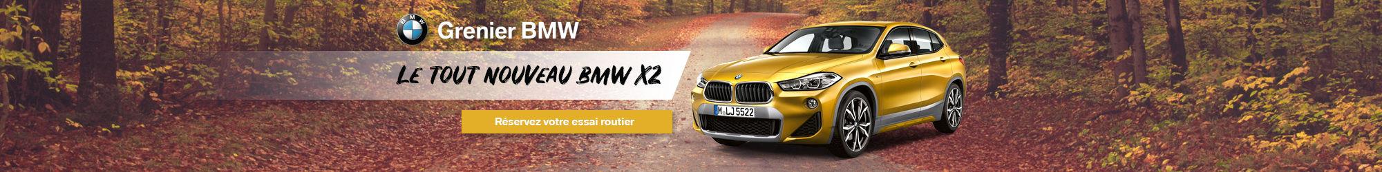 BMW X2 2018 essai routier