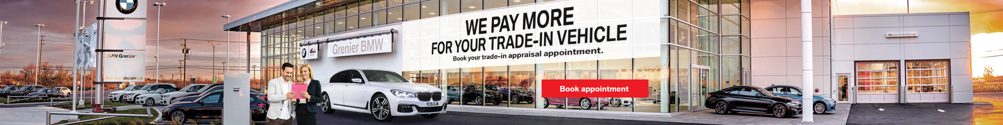 We pay more for your trade-in vehicle