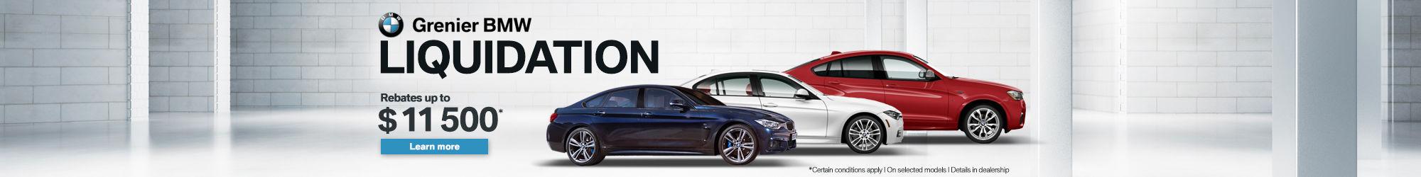 New vehicle liquidation