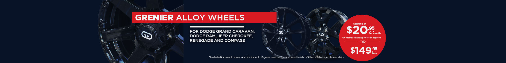 GRENIER alloy wheels - ALL