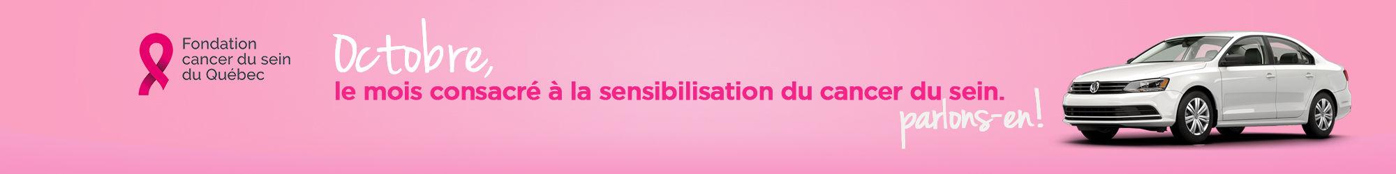 Octobre : mois sensibilisation du cancer du sein