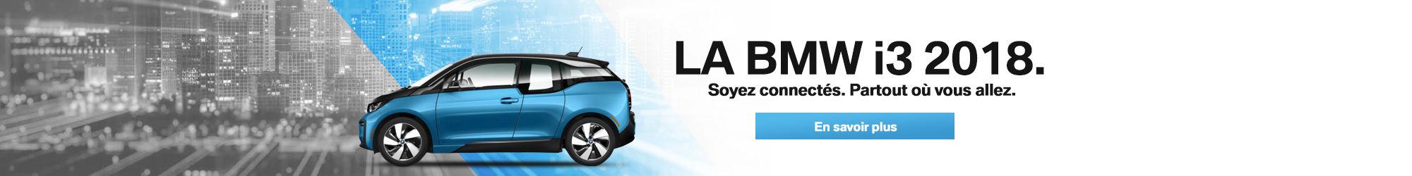 BMW i3 en inventaire (Novembre)