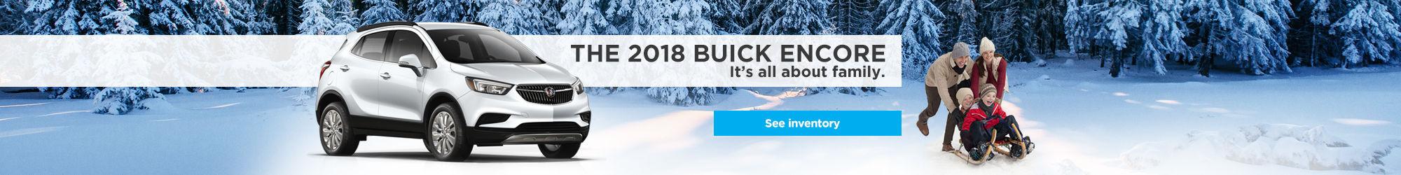 2018 Buick Encore (December)