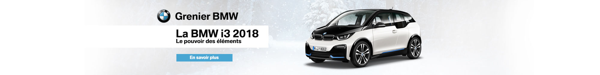 BMW i3 en inventaire (Janvier)