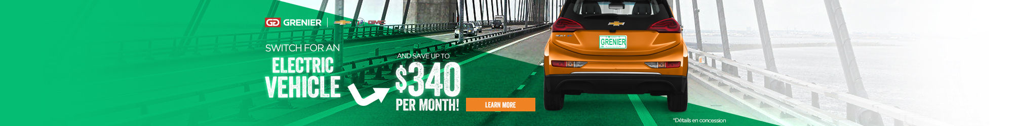 Save up with your electric vehicle!