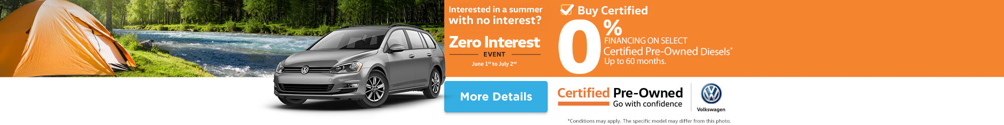 Volkswagen Zero Interest event