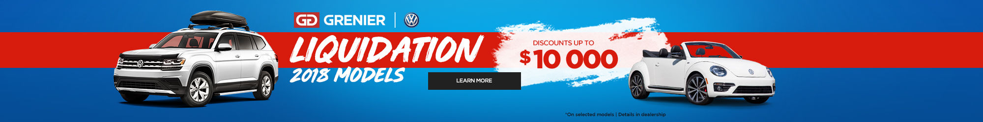 Discounts up to $10,000 !