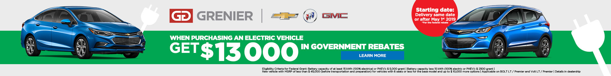 Government rebate for electric vehicles (Copy)