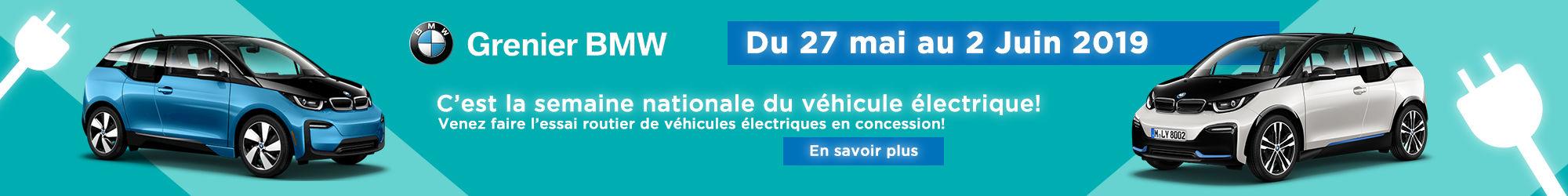 Grenier BMW : Semaine électrique!
