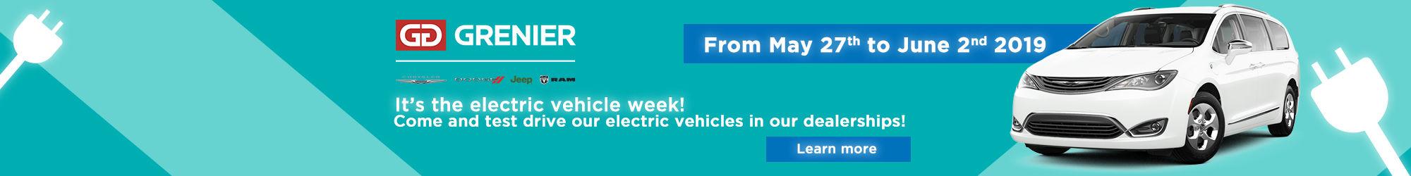 Grenier Chrysler: Electric vehicle week!