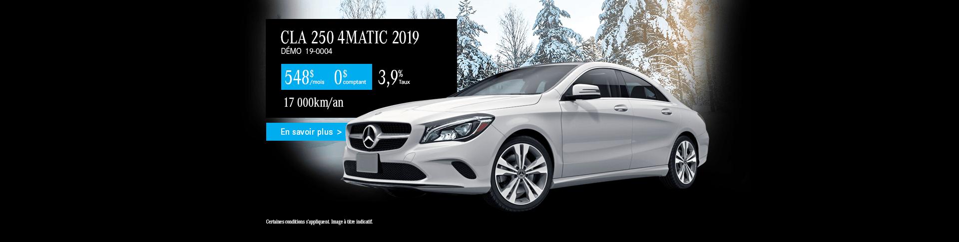 Mercedes-Benz CLA250 2019