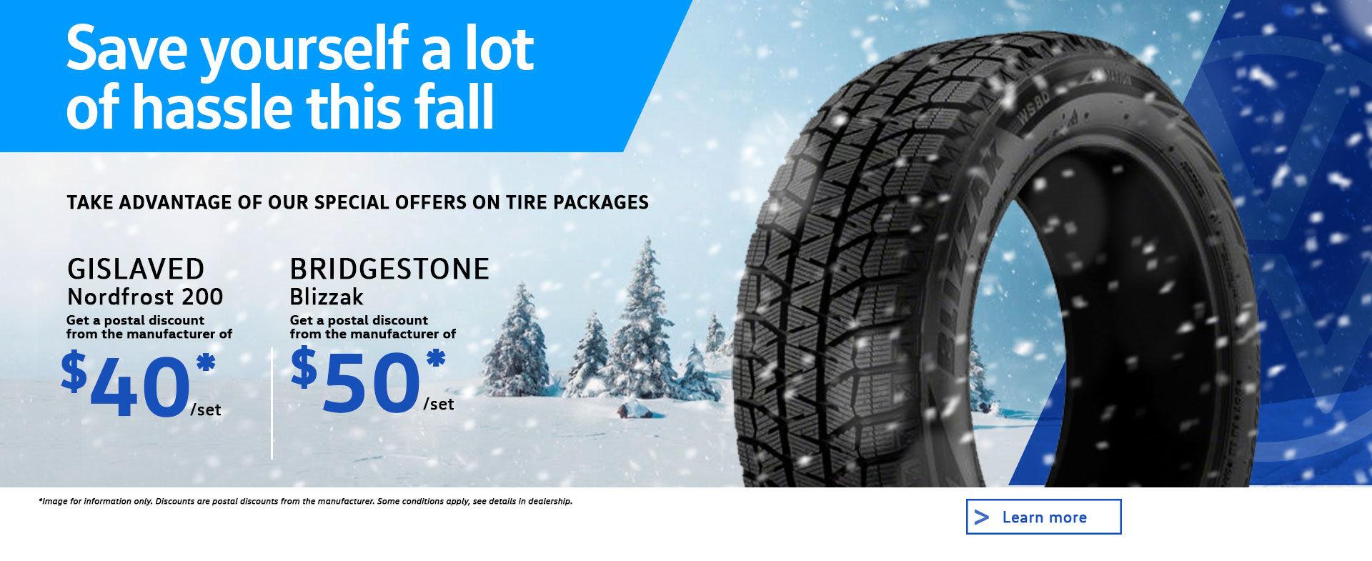 winter tire promo desktop | Volkswagen Laurentides