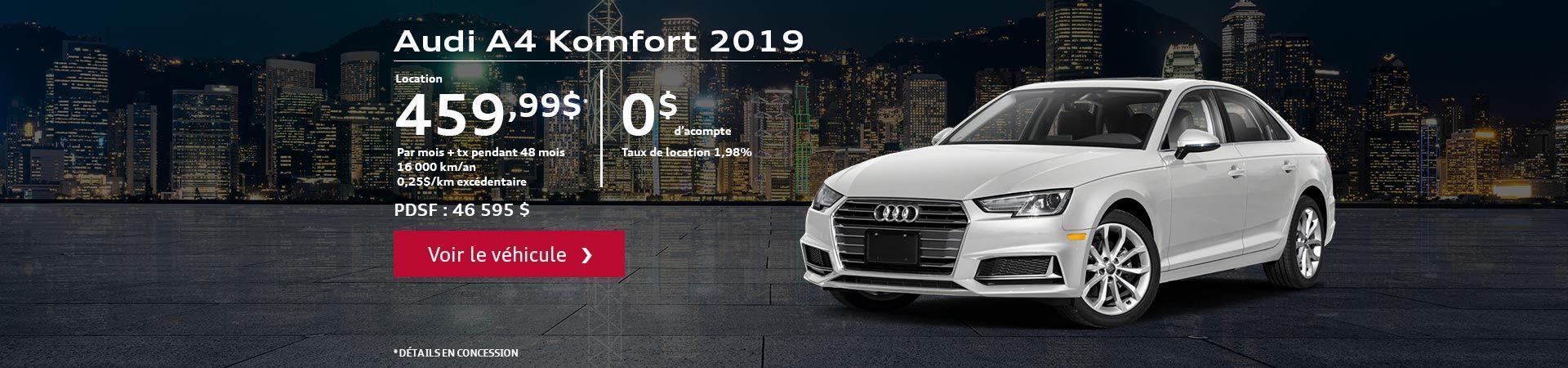 A4 komfort 2019