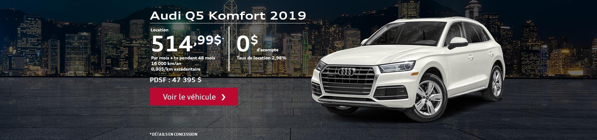 Q5 komfort 2019