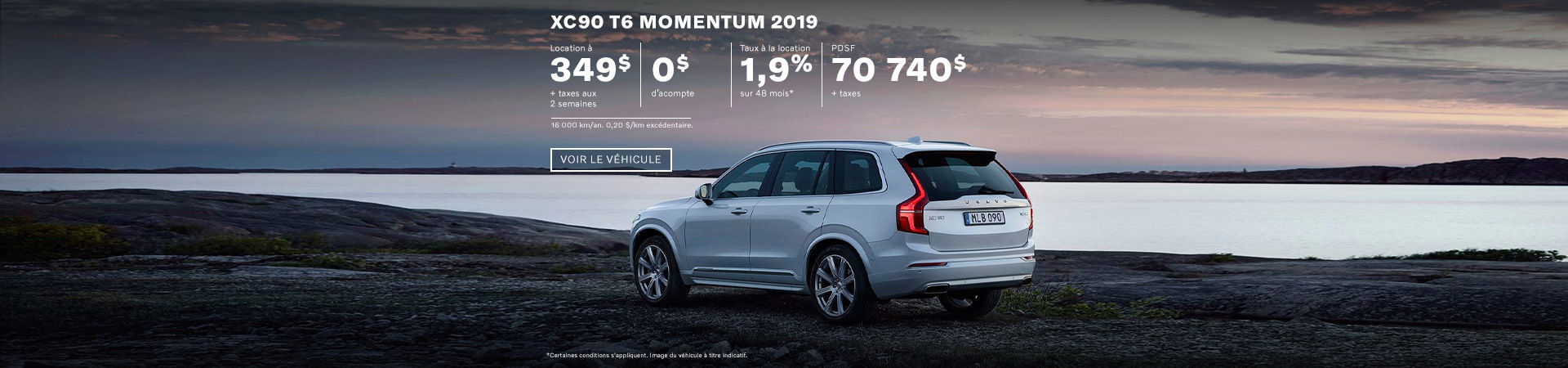 XC90 T6 Momentum 2019