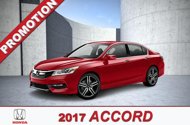 2017 Accord - Cumberland Honda Promotion in Amherst