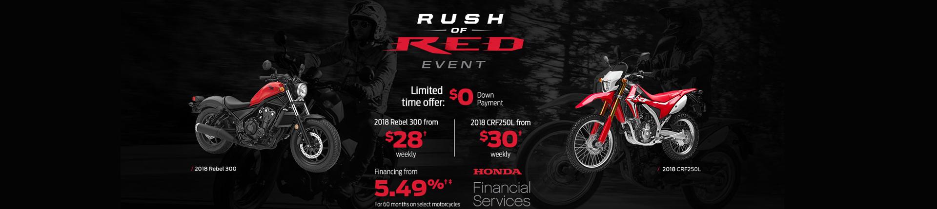 Honda: Rush the Red Event