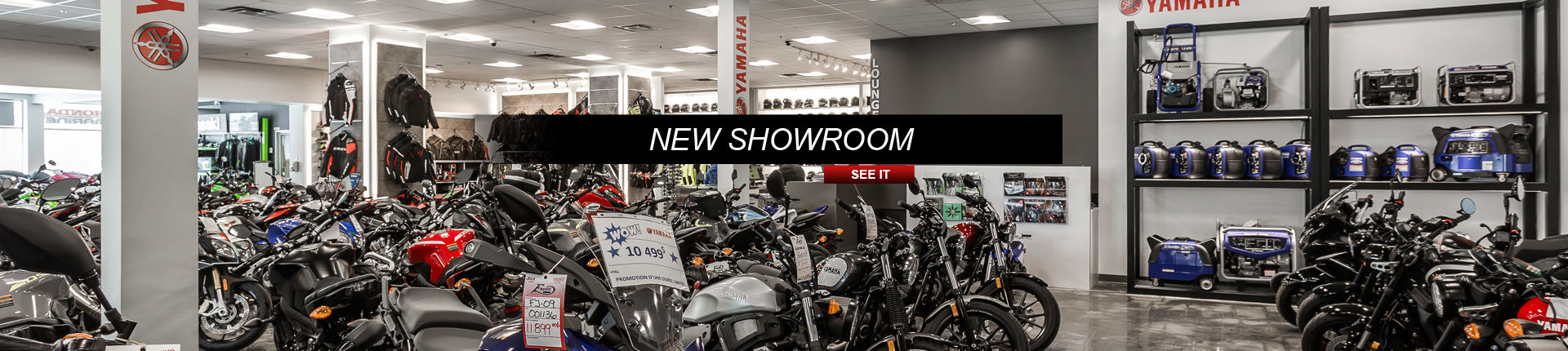Our new showroom