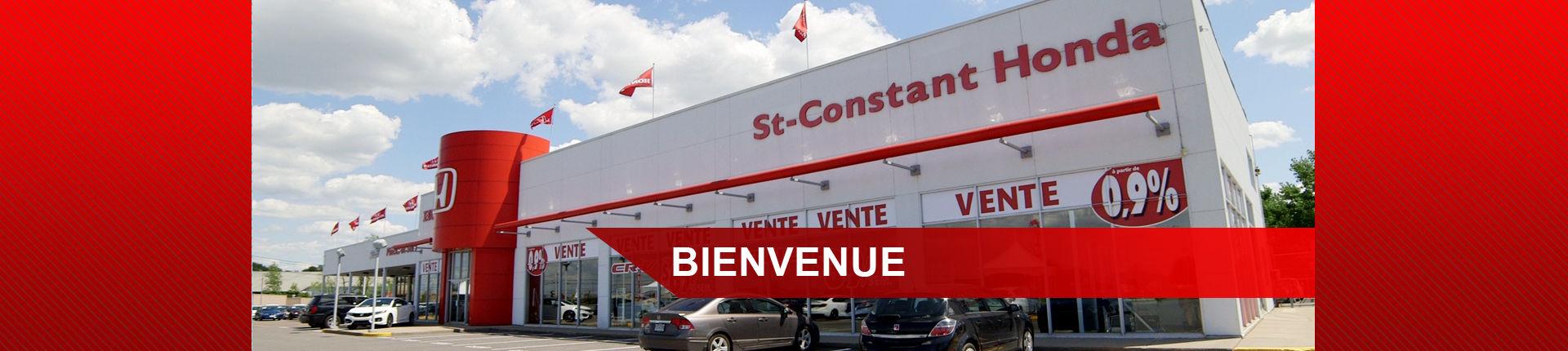 Bienvenue chez st-Constant  Honda