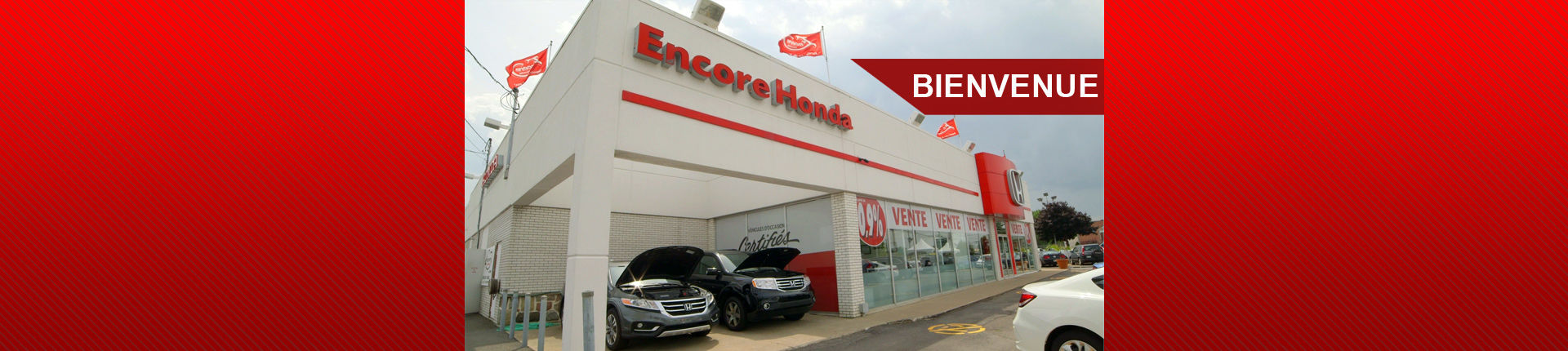 Bienvenue chez Encore Honda