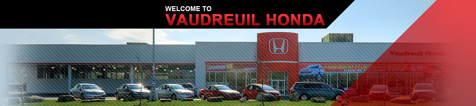 Welcome to Vaudreuil Honda