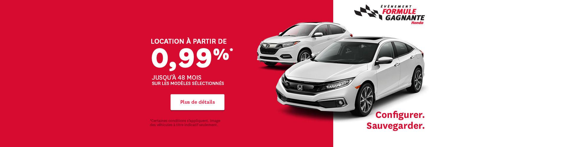 Événement Honda - header