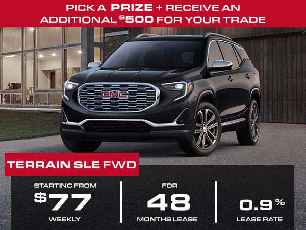 Gmc Terrain Lease >> Lease From 77 Weekly Gmc Terrain 2018 440 Chevrolet