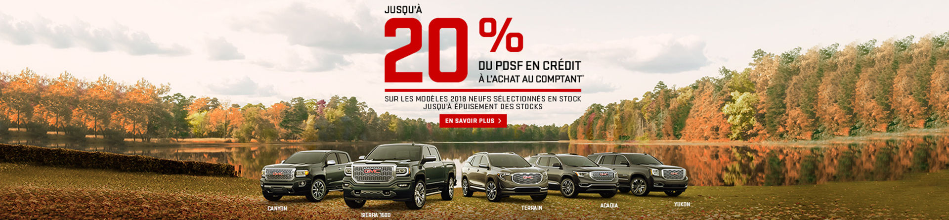 Promotion GMC, repentigny