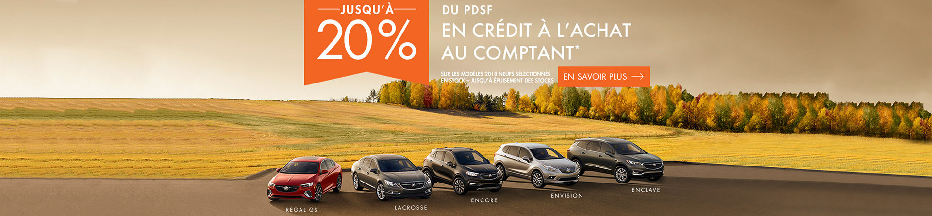 Promotion Buick, repentigny