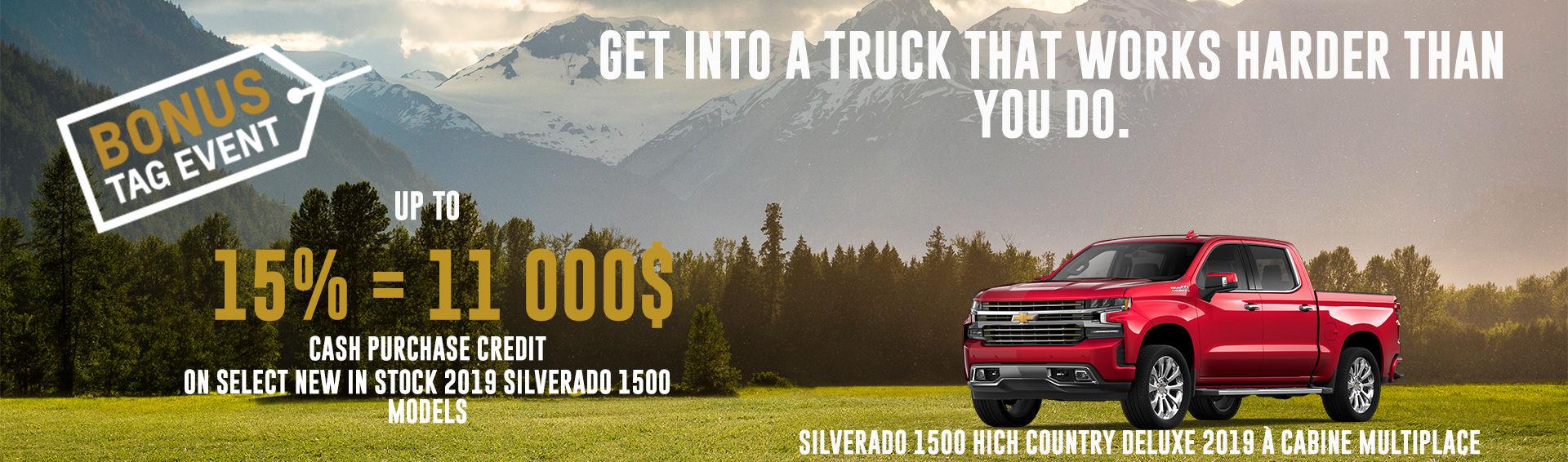 June Chevrolet Silverado 2019
