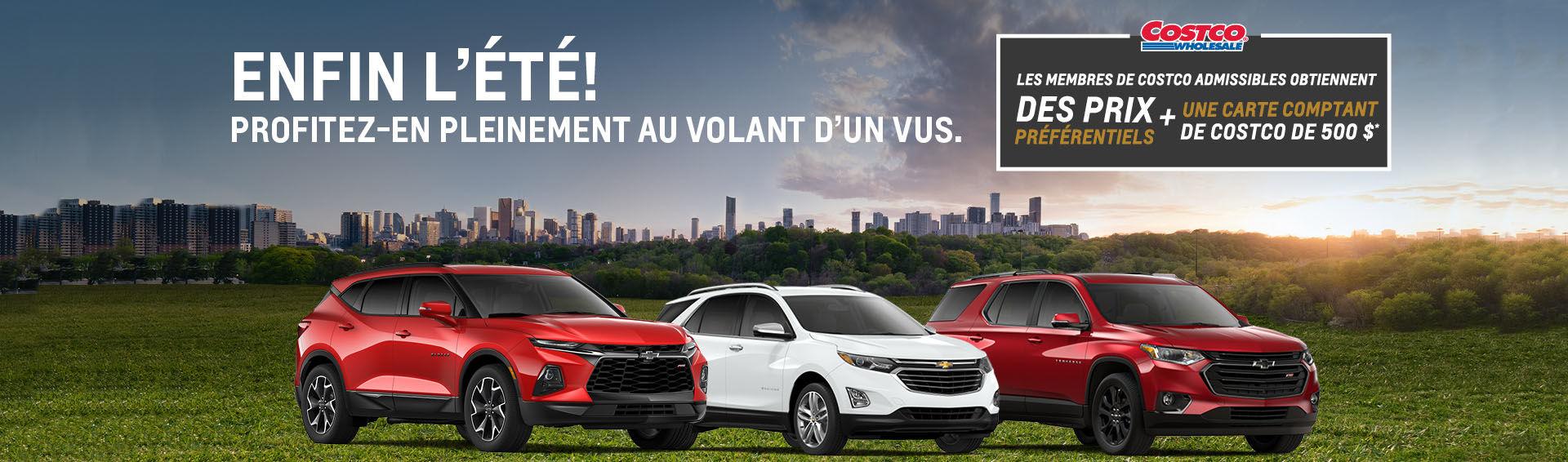 Promotion Juillet Chevrolet