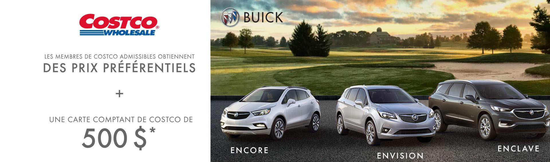 Promotion Buick Juillet
